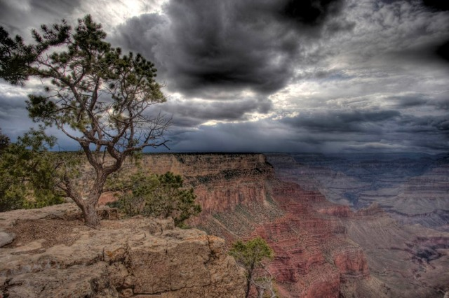 From the South Rim - HDR