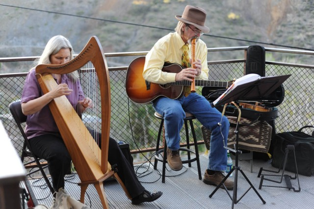 Musicians at the Jerome art walk