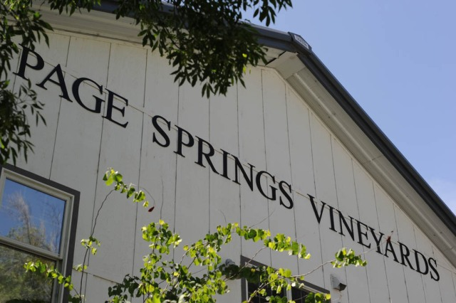 Page Springs Winery