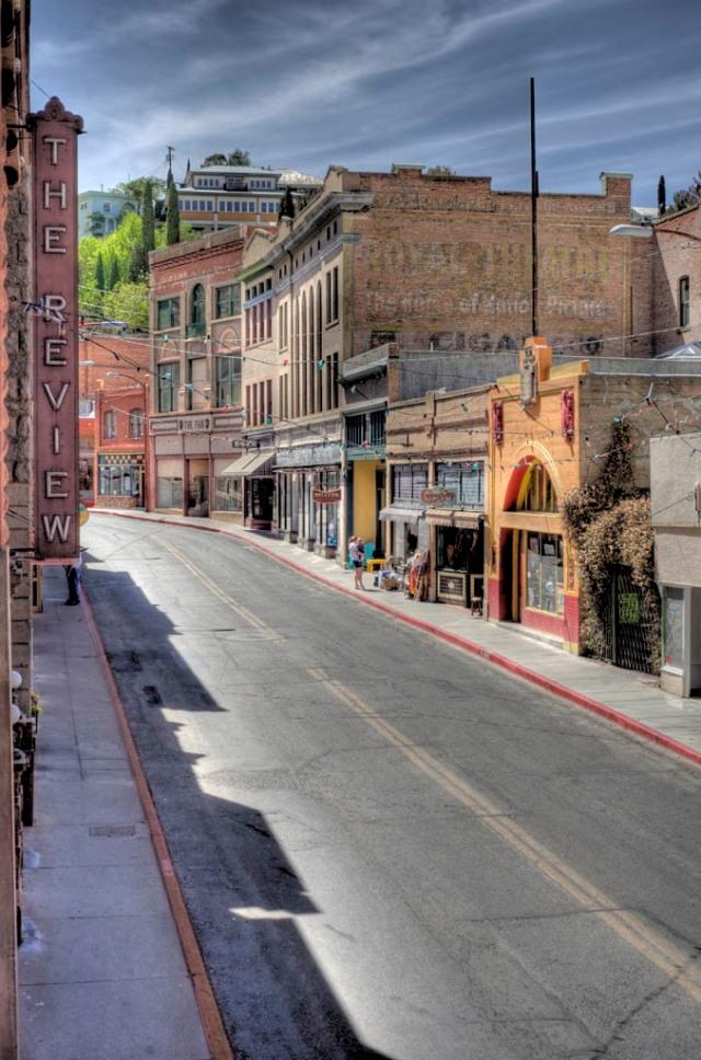 Main Street, Bisbee, AZ - HDR
