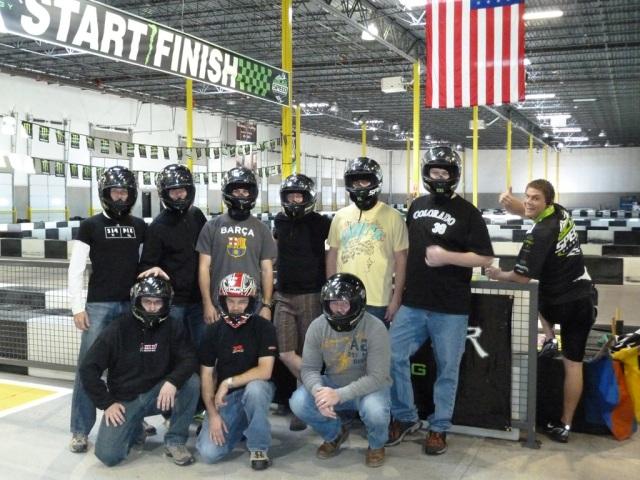 The go kart crew