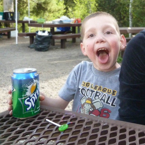 My grand nephew Tayt, all smiles and joy, and stronger every day after a lifelong battle with heart troubles.