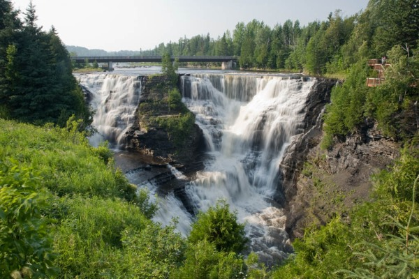Kakabeka Falls Provincial Park near Thunder Bay, Ontario.