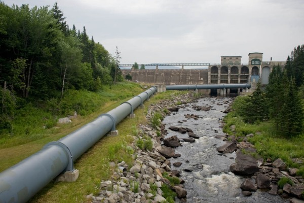 The Aziscohos Hydroelectric Project in Maine.