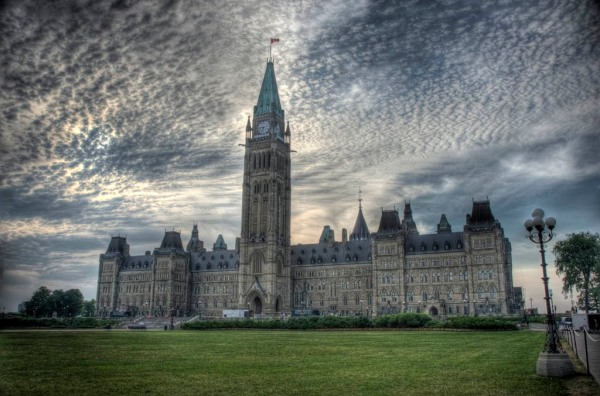 The Édifice du Centre of the Canadian Parliamentary complex, Ottawa - HDR