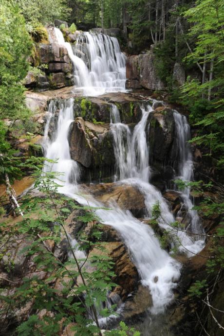 Katahdin Stream Falls in Baxter State Park, ME.