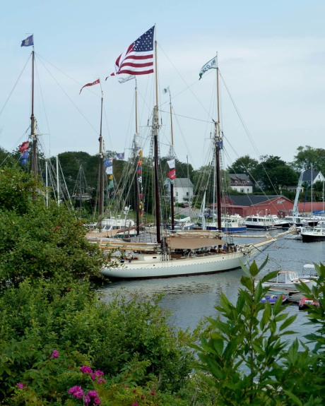 Majestic schooners at the Camden Windjammer Festival.