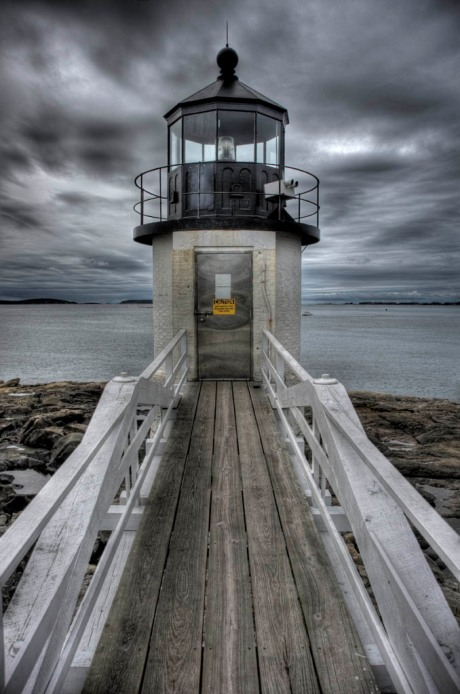 Port Clyde Lighthouse. - HDR