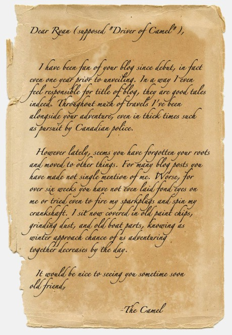 The letter.