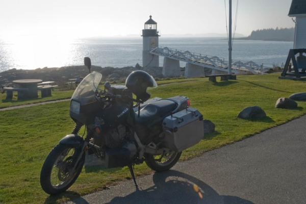 End of the road - the Marshall Point light near Port Clyde.