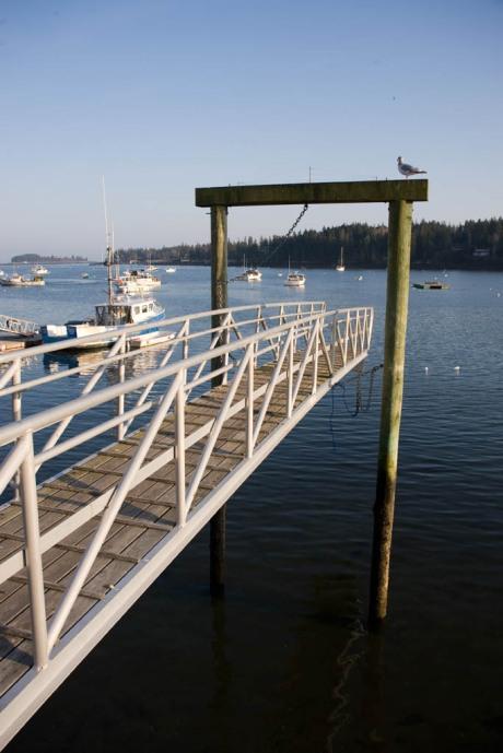 "Maine's version of Alaska's ""Bridge to Nowhere"" - Tenants Harbour."