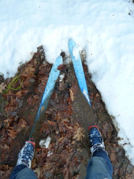 Powder is so last year! Nothing compares to gliding on a sweet, slick pillow of mud!