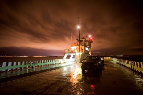 Riding the ferry home across Lake Champlain home to Burlington, VT.