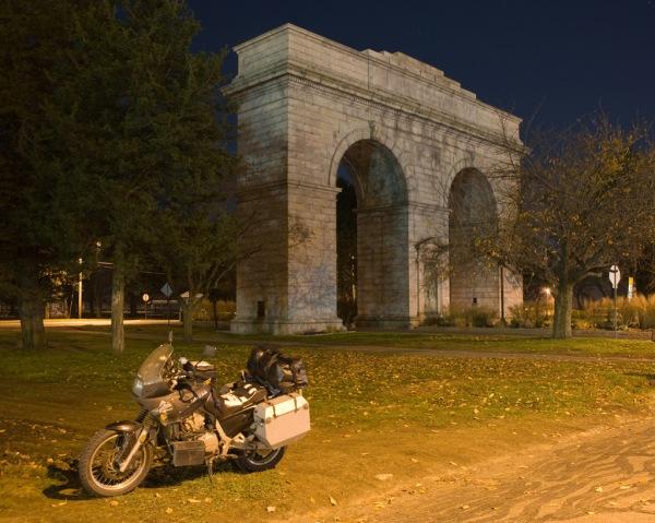 The Perry Memorial Arch in Bridgeport, CT.