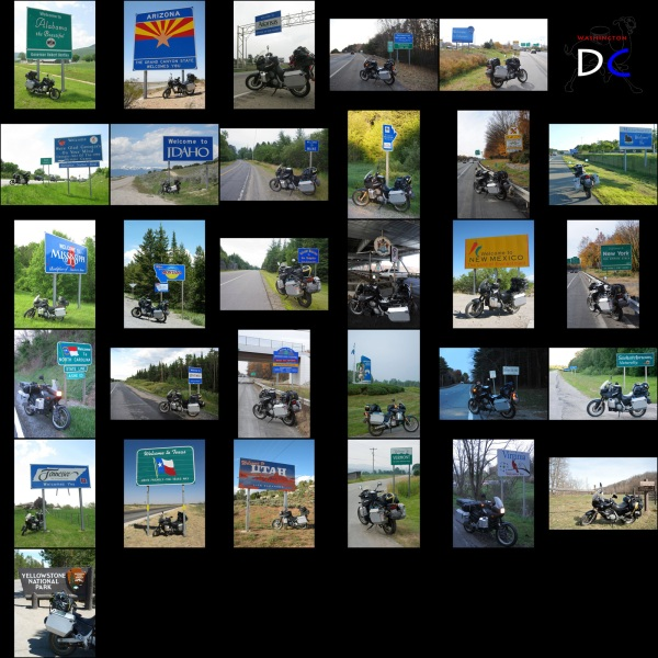 31 state / provincial line crossings down. Quite a few to go :-)