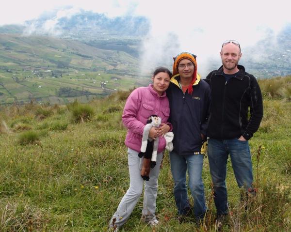 On the summit of Putzalahua (11,525ft / 3,512m)