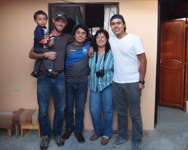 From L to R: Andy, yours truly, Emilio, Marta, and Andres Felipe.