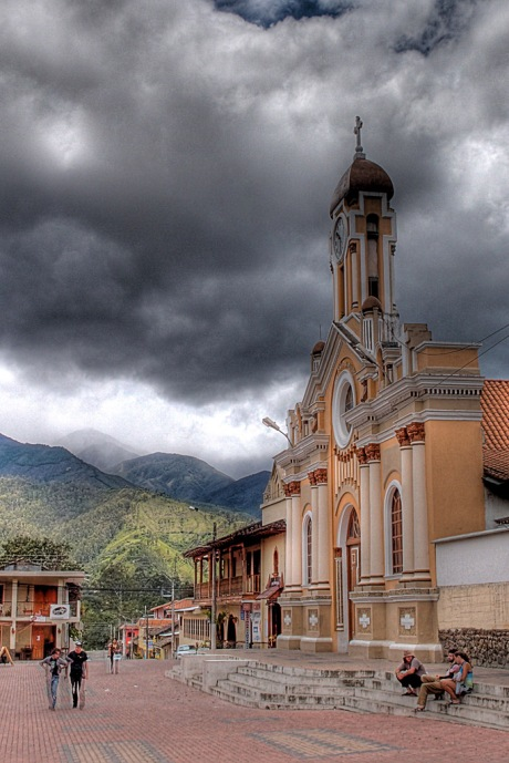 A church in Vilcabamba. - HDR Composite