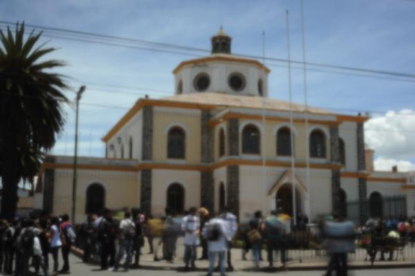 Diana and Freddy's university, the Escuela Politécnica del Ejército.