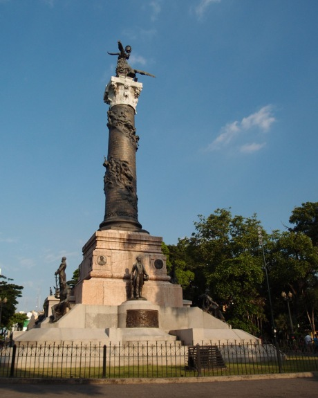The Columna Próceres de la Independencia.