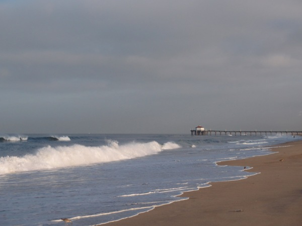 Morning at Hermosa beach before braving LAX.