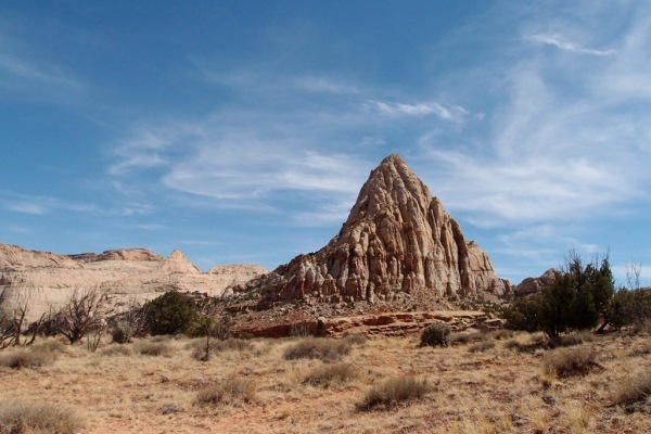 Unknown peak near Cohab Canyon.