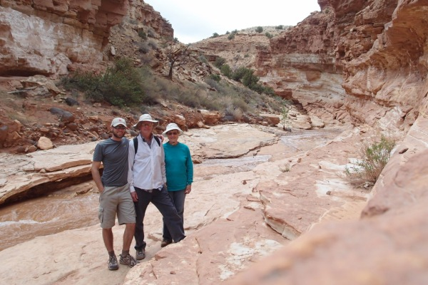 The Cargos in Sulphur Creek.
