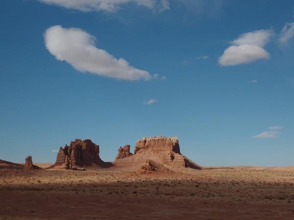 Desert rock formations.