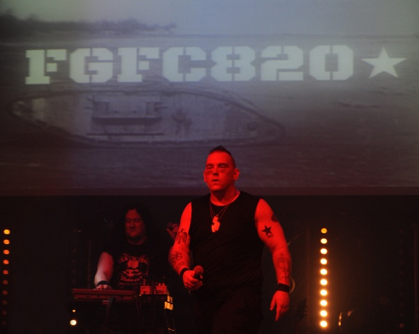 FGFC820 performing a great set despite looking confused.