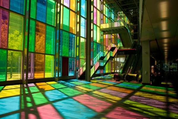 Montreal's Palais des Congrès.