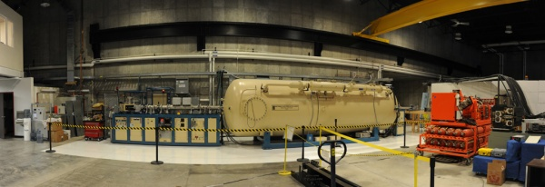 The Pelatron, an accelerator used for positron annihilation spectroscopy (whatever that means!)