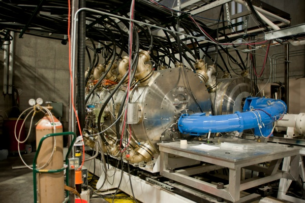 An accelerator that was originally developed to rid mail parcels of the Anthrax virus.