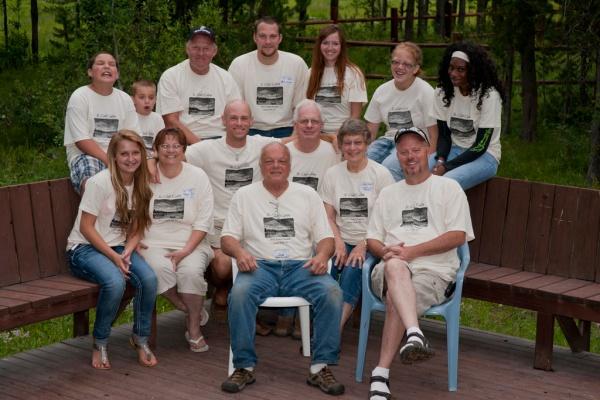 Those of us on my Grandma Katie and Grandpa Joe's side of the family.