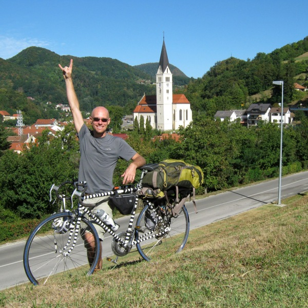 Krapina, the last stop in Croatia before entering Slovenia in a few more kilometers.