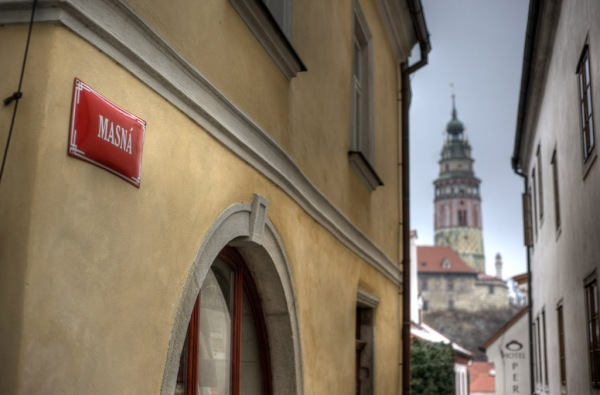A shot from our 2011 visit to Český Krumlov.