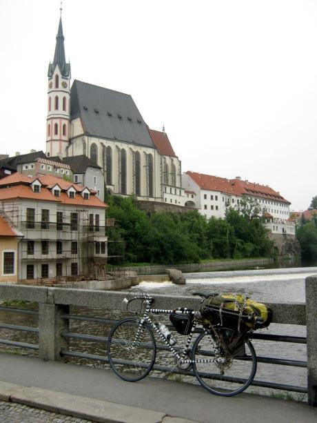 A somewhat melancholy return to Český Krumlov.