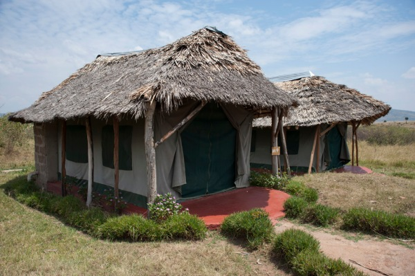 Our accommodations at the Manyatta Camp.