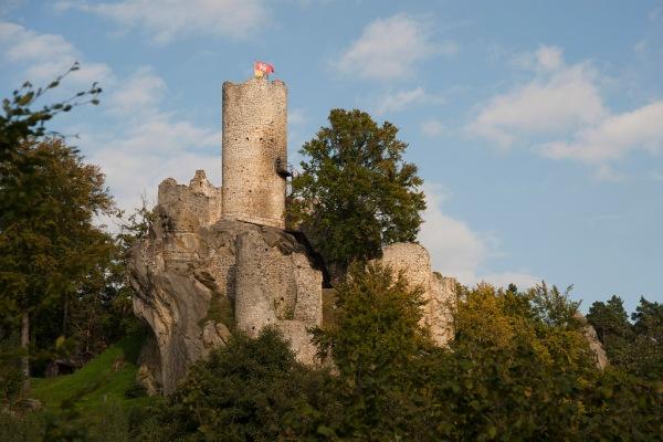 Hrad (Castle) Frýdštejn near Liberec.
